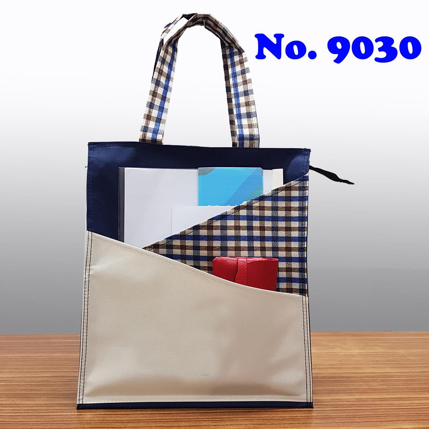 กระเป๋าช้อปปิ้ง ถุงผ้า รุ่น 9030